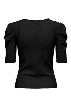 Springfield Buttoned t-shirt black