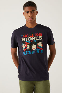 Springfield The Rolling Stones t-shirt blue