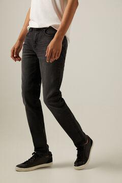 Springfield Grey wash skinny jeans grey mix
