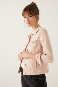 Springfield Organic cotton denim jacket strawberry