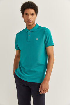 Springfield ESSENTIAL SLIM FIT POLO SHIRT blue