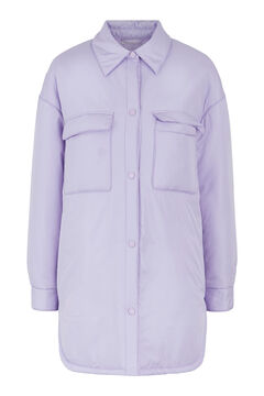 Springfield Long over garment purple
