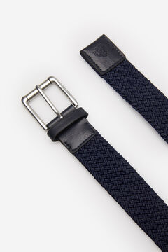 Springfield ESSENTIAL WOVEN BELT blue