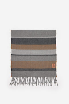 Springfield STRIPED SCARF grey