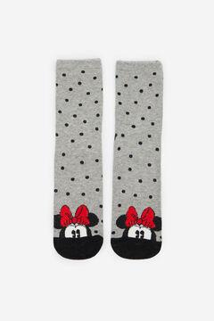 Springfield Minnie face socks grey