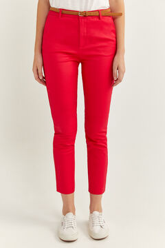 Springfield Coloured Chinos red