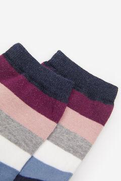 Springfield Multicoloured Stripes Socks blue