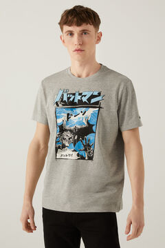 Springfield Batman t-shirt gray