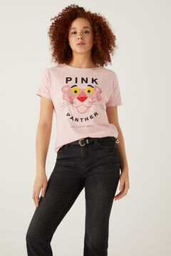 Springfield Pink Panther t-shirt strawberry