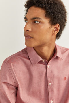 Springfield STRETCH PINPOINT SHIRT royal red