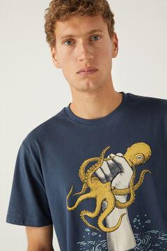 Springfield Octopus T-shirt bluish