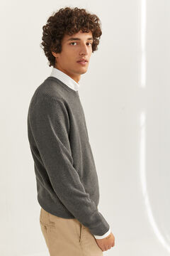 Springfield MELANGE TEXTURED JUMPER grey