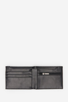 Springfield ESSENTIAL FAUX LEATHER WALLET black