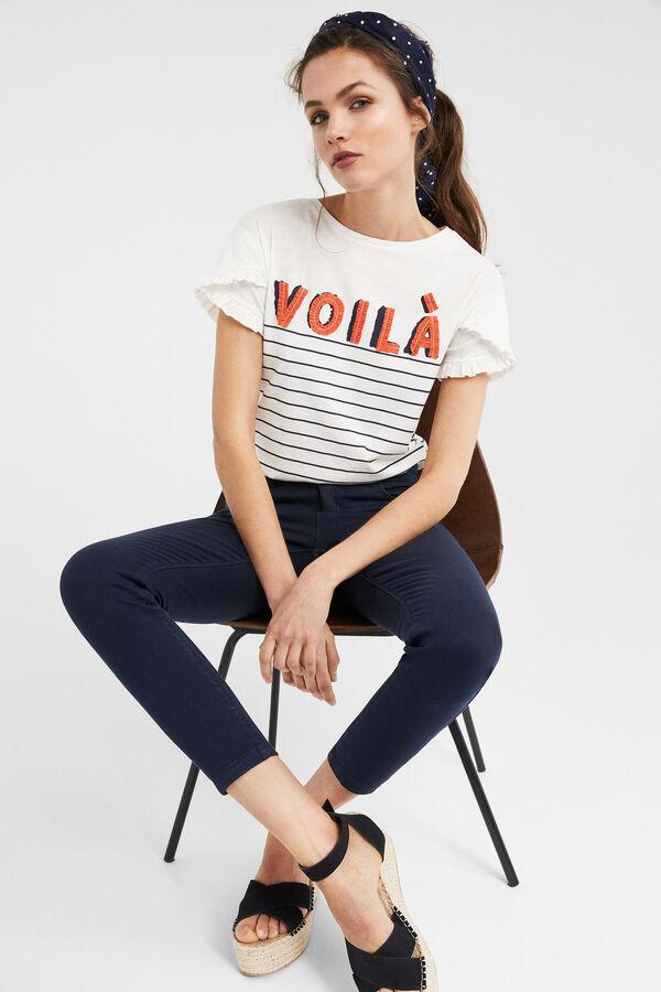 Springfield Camiseta  voilà  blanco b3c0371007030