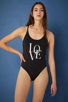 Springfield Love swimsuit black