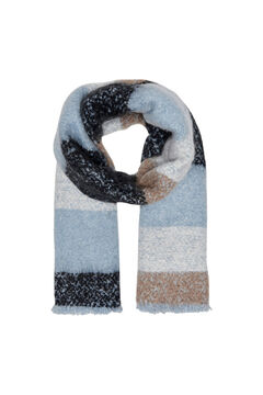 Springfield Stripes scarf bluish