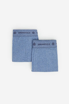 Springfield 2-PACK ESSENTIAL BOXERS blue