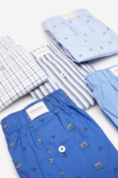Springfield Pack 5 calzoncillos tela mar azul