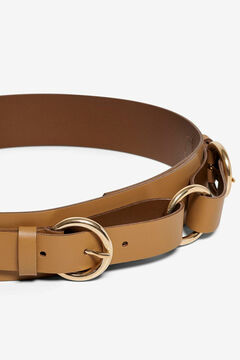 Springfield Leather waist belt brown