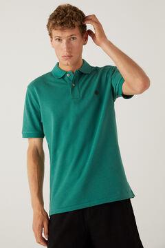 Springfield Essential piqué polo shirt green
