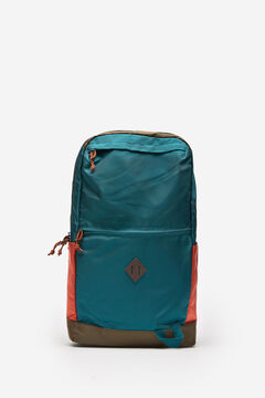 Springfield MULTICOLOURED NYLON BACKPACK dark green