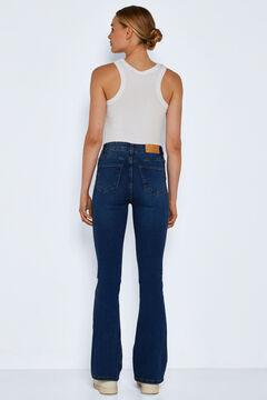 Springfield Flare Jeans azulado