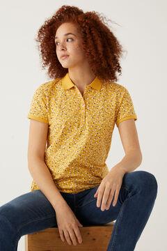 Springfield Polo algodón orgánico amarillo