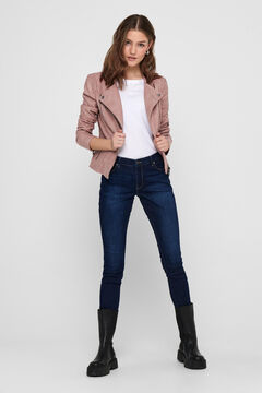 Springfield Women's biker jacket with zip fastening lila