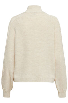 Springfield Cable knit jumper white