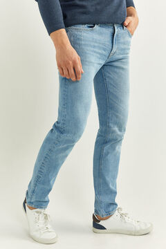Springfield MEDIUM-LIGHT WASH SLIM FIT JEANS blue