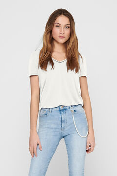Springfield Short-sleeved t-shirt blanc