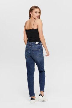 Springfield Slim fit jeans kék