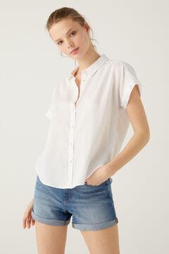Springfield Zsebes bő ing fehér