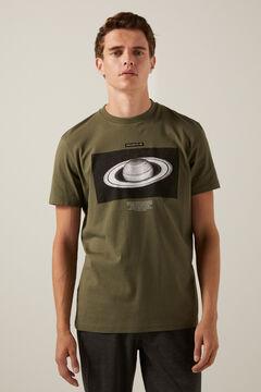 Springfield Galaxy T-shirt grey