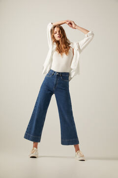 Springfield Culotte jeans blue