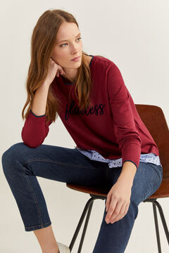 "Springfield ""Flawless"" Jumper deep red"