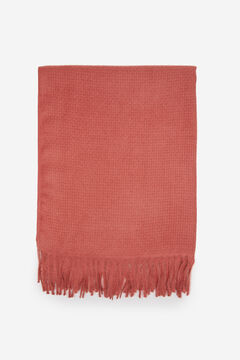 Springfield Plain scarf deep red
