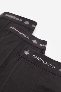 Springfield 3-PACK ESSENTIALS BOXERS black