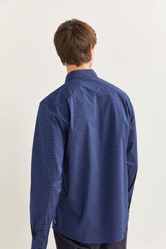 Springfield Printed shirt bluish