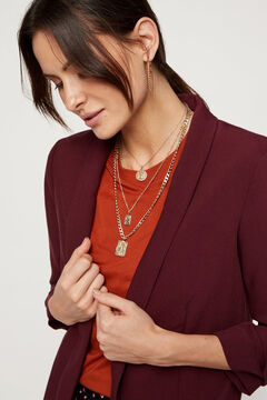 Springfield 3/4-length sleeves blazer lila