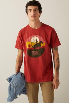 Springfield Cowboy t-shirt bordeaux