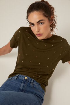 Springfield Pearl front T-shirt green