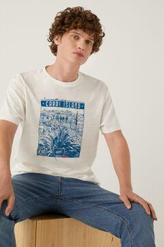 Springfield Postcard T-shirt ecru