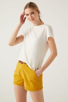 Springfield Short chino ceinture golden