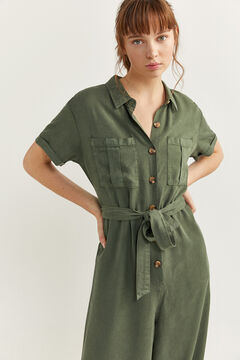 Springfield Long Tencel jumpsuit oil