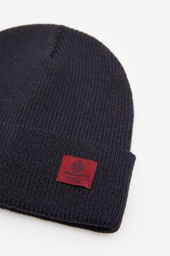 Springfield RIB KNIT HAT blue