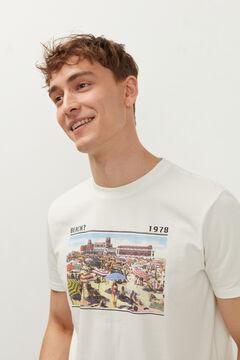 Springfield Retro T-shirt ecru