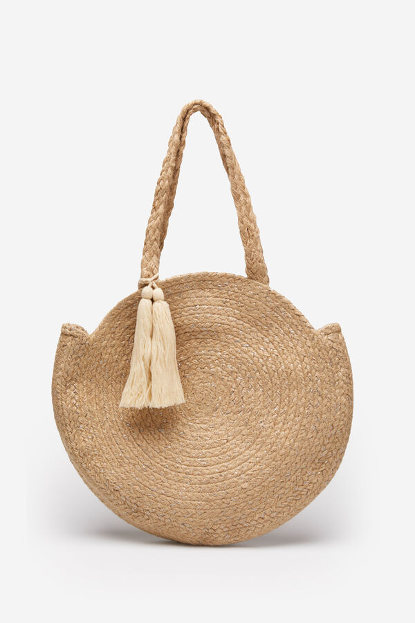3101feed5b Springfield Round raffia handbag color