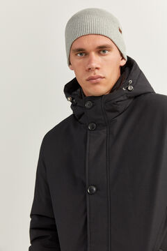 Springfield LONG WATER-REPELLENT PARKA WITH DUPONT™ SORONA® KEEP IT WARM! PADDING black
