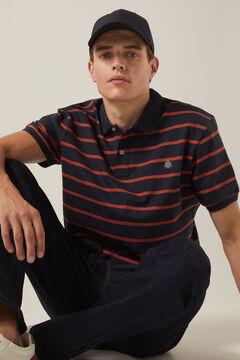 Springfield Striped polo shirt blue